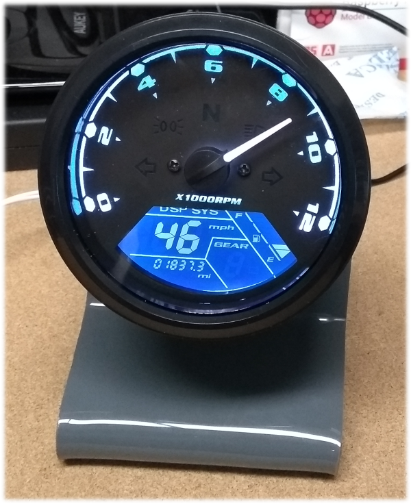 Tachometer Clock | Picprojects